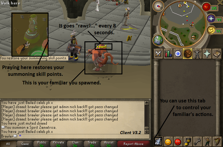 Scape 513 newest client with source Summoning