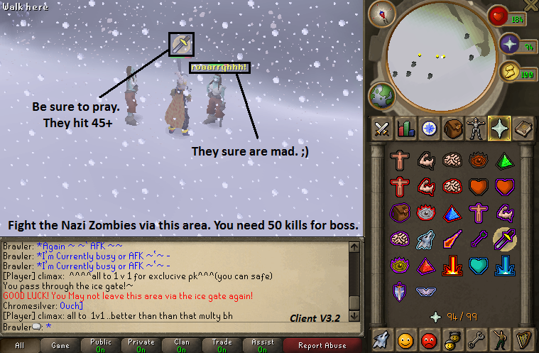Scape 513 newest client with source Zombie2
