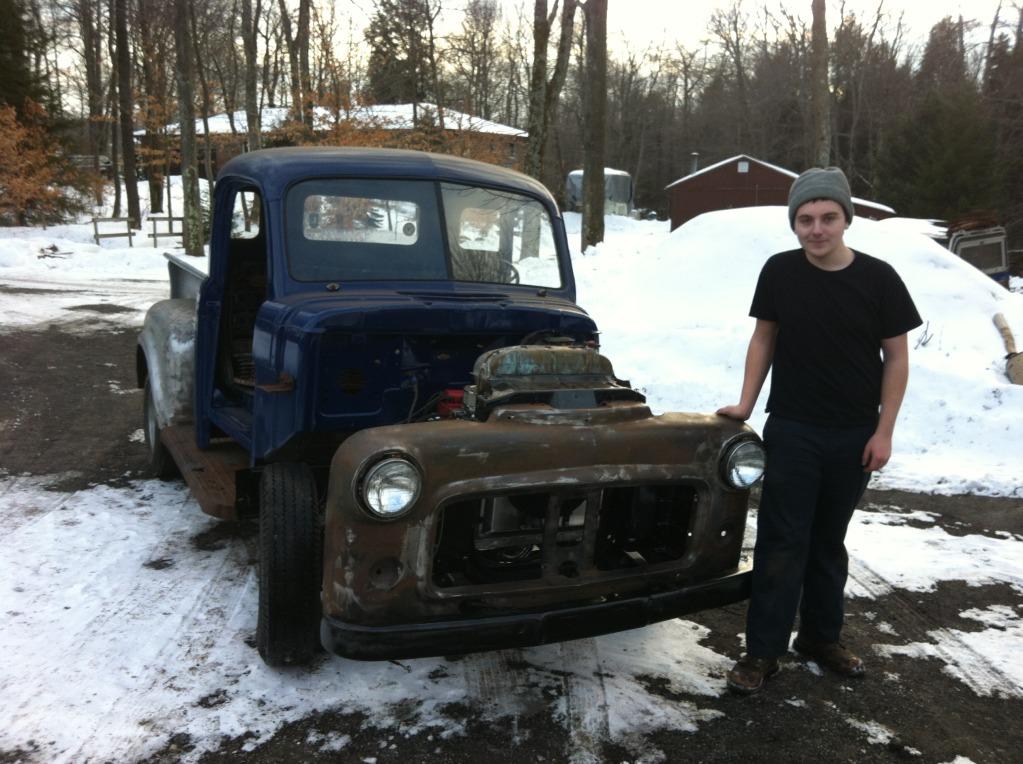 Making Ugly Cool Again! 53 Dodge Build IMG_2588