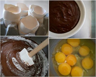 Ngon ngon chocolate molten cake [ Pháp ] Chocolatelavacake003
