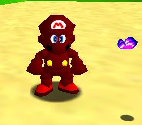 Super Mario 64 Machinima colour codes request