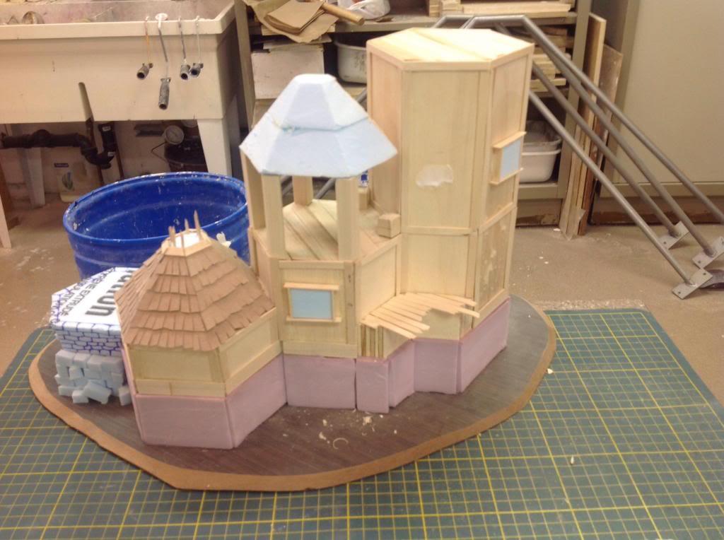 Hexagonal towers, fallen statue, barrel mould (WiP) Image_zps8edefeec