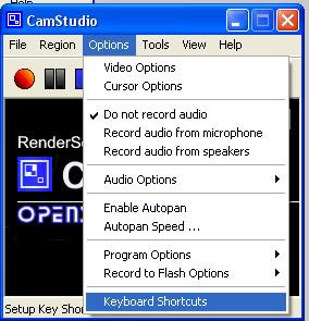 موقع تحميل برنامج تصوير الفيديو [cam studio] + شرح كيفية إستعماله Shortcuts