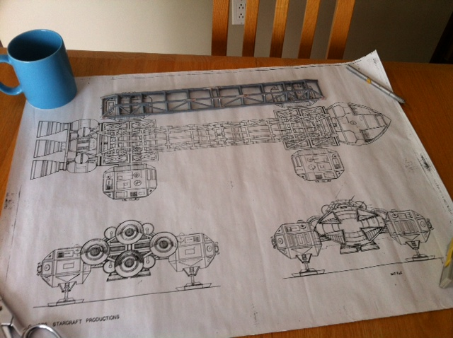 Aigle cosmos 1999 scratchbuilt Plan
