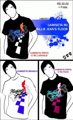 Camisetas do MJ DIVULGAOMJBILLIEJEANSFLOORcpia1