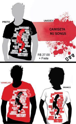 Camisetas do MJ DIVULGAOMJSONGScpia1