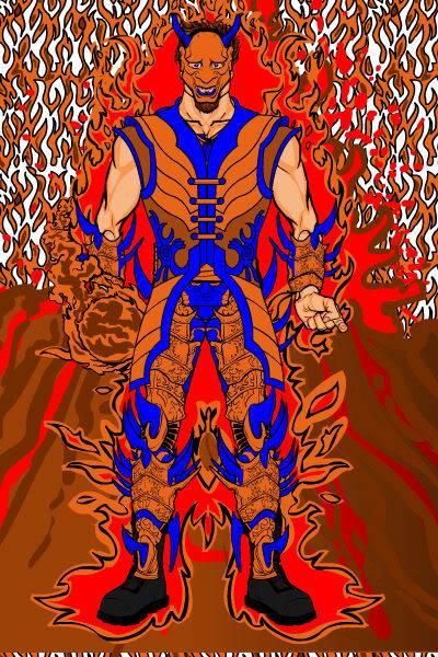 Hotsuchi Demon of Earth and Fire Iken