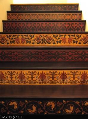 Декор лестницы A2dab5051f92d6dd490fcb854f8afa4c