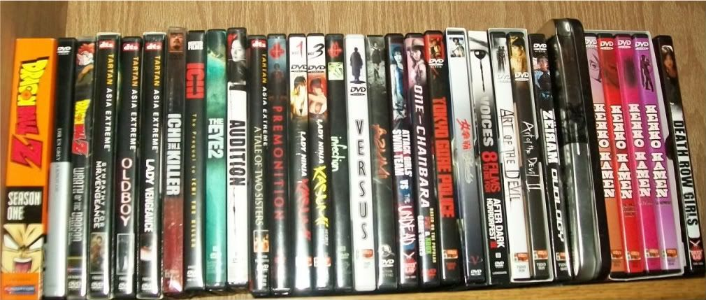 My small collection of Asian dvds 100_0180
