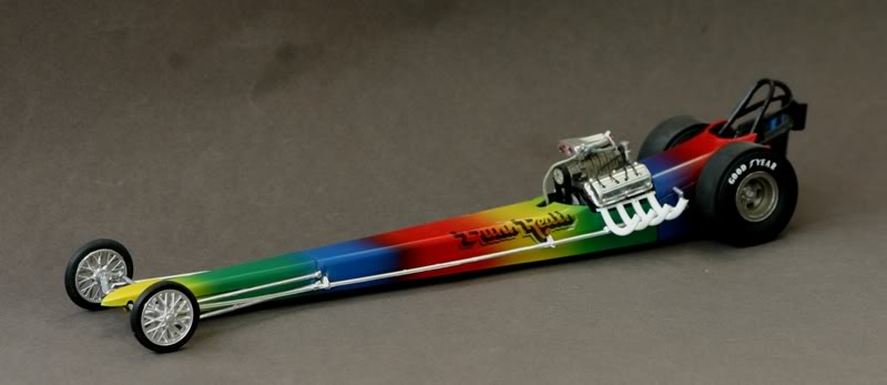 "The ""Rainbow"" Car .......... Drg01"