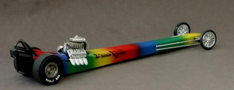 """The """"Rainbow"""" Car .......... Drg03"""