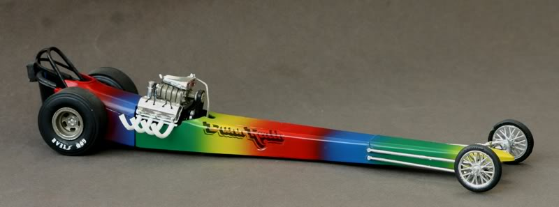 "The ""Rainbow"" Car .......... Drg04"