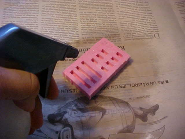 Tips & Tricks 1: Making Rubber molds for plaster blocks Step11