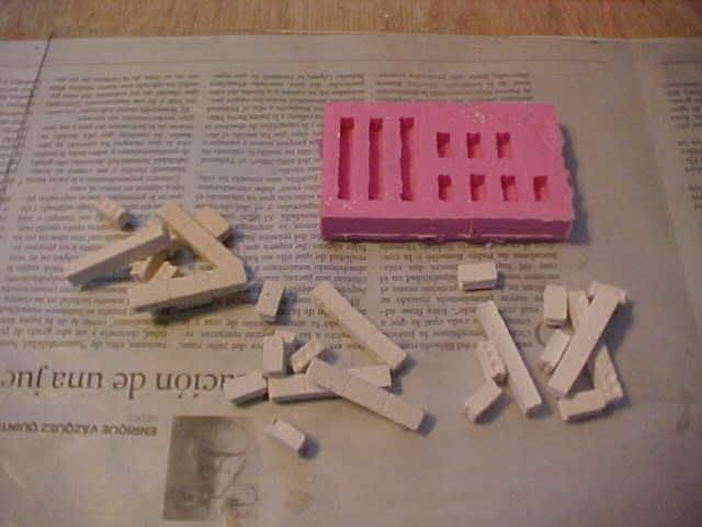 Tips & Tricks 1: Making Rubber molds for plaster blocks Step13