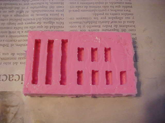 Tips & Tricks 1: Making Rubber molds for plaster blocks Step9