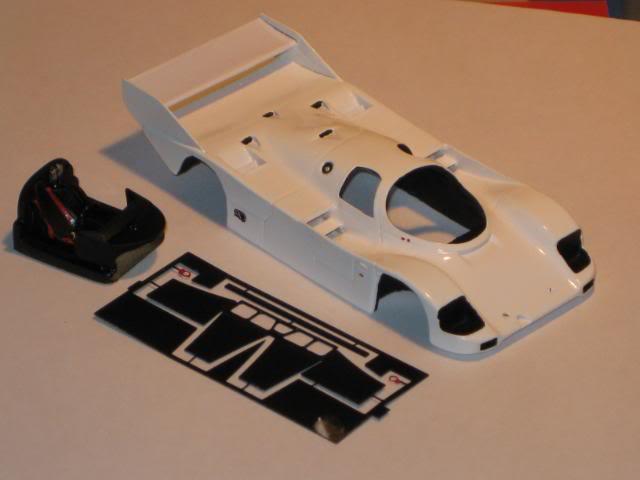 Porsche 962 C Le Mans 1991 Umbauten007