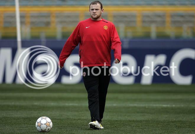 Entrenamiento del Manchester United 31/3/2008...Roma,Italia 18