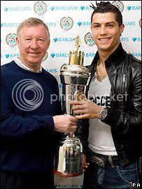 PFA Players Player of the Year award 27/4/2008 Cristianoronaldo-2