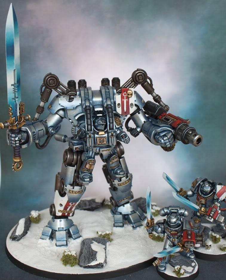 Garfy's Grey Knight Dreadknight Dreadknightandbattlebrothers