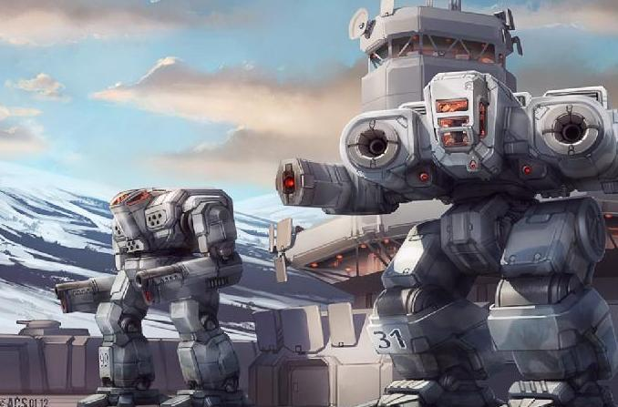 Terran Space Ships AMechBots