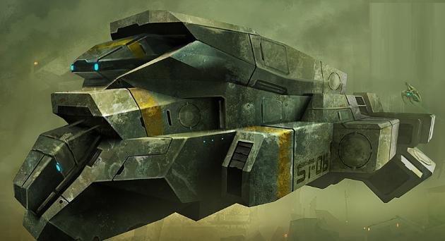 Terran Space Ships AZAspacefreighter