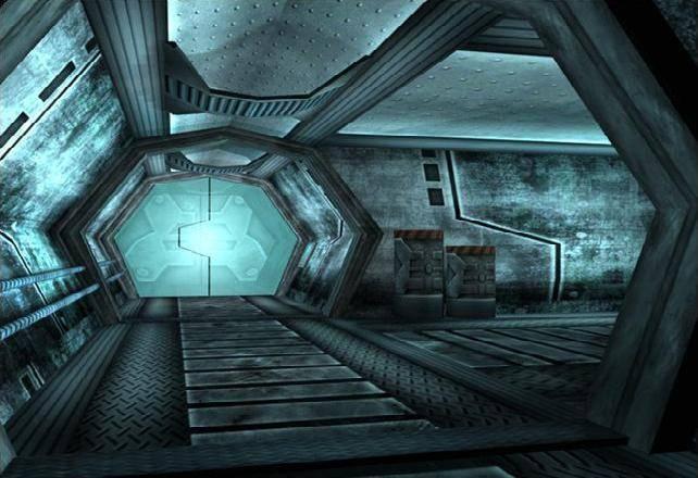 The Steel Witch Hallways