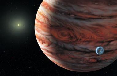 The Milky Way Galaxy Jupiter