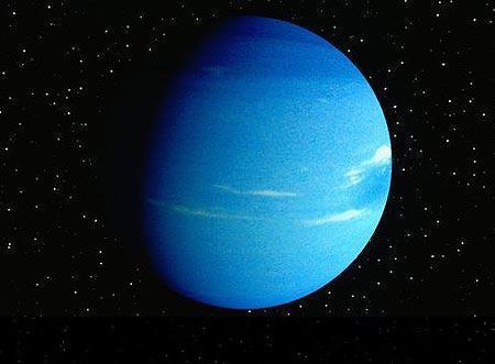 The Milky Way Galaxy Neptune