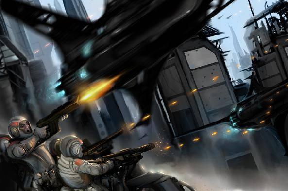 T.A.F. Armed Forces SpaceWar2