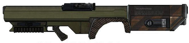 Terran Alliance Weaponry Cannon