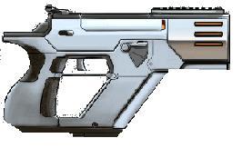 Terran Alliance Weaponry Cheavypistol
