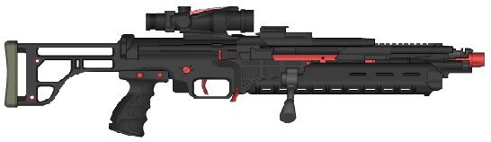 Terran Alliance Weaponry Cheavyrifle