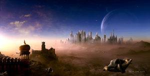 The Milky Way Galaxy Planet1