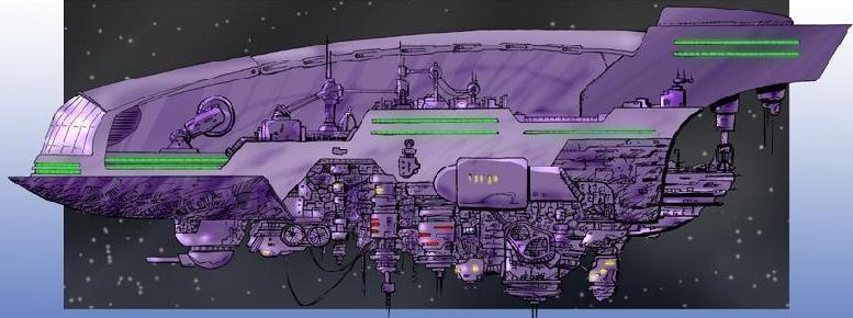 Terran Space Ships XXXCityship
