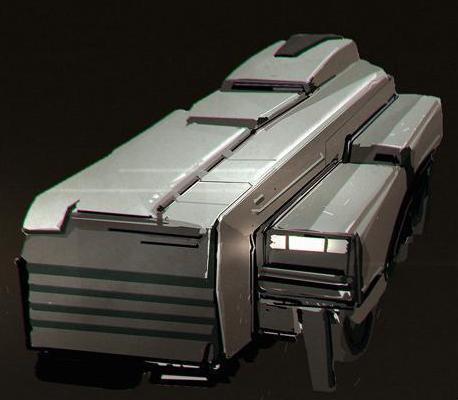 Terran Space Ships XXXgarbageship