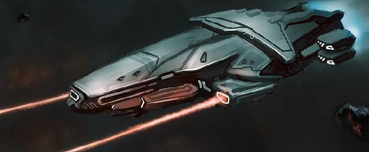 Terran Space Ships XXXtransport