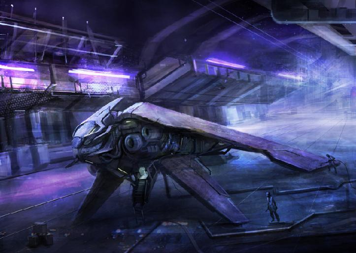 Terran Space Ships ZZShipatshop