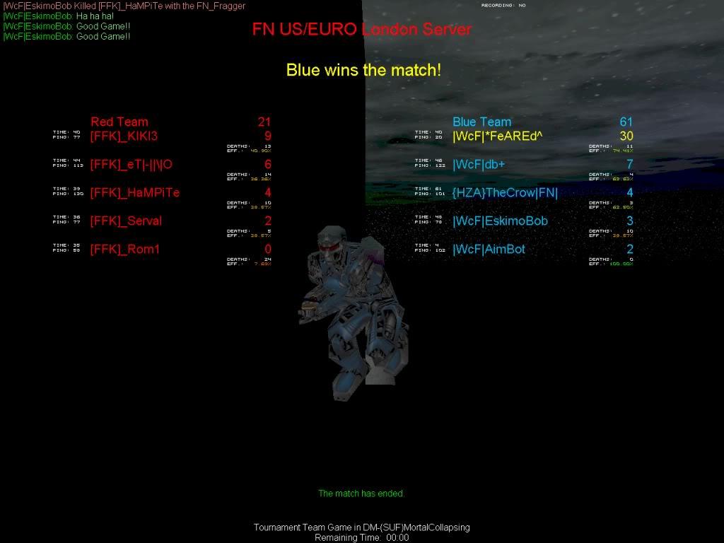  WcF  2 v 0 [FFK] 29 April Shot0080-1