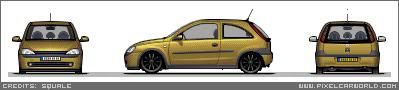 my pixal art cars :) Corsatobe