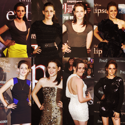 Which one is your favorite Kristen Eclipse Premeire Looks? 3
