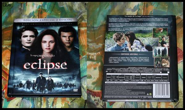 Eclipse DVD Metallic Set box and Freebies from Spain BDposter5