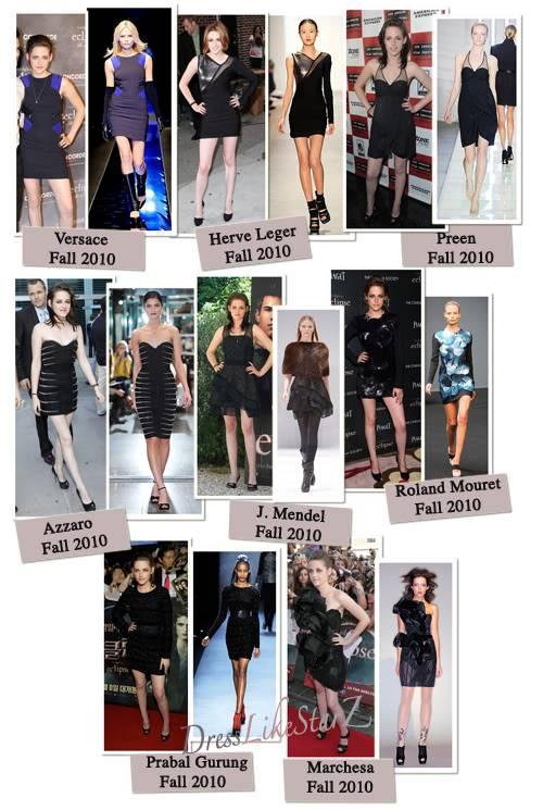 Kristen Stewart and her LBD Fashion LBD