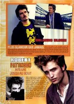Rob,Kristen,Taylor & Eclipse in Star & One Magazine Scans (French) One_02