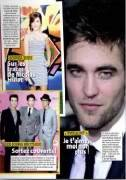 Rob,Kristen,Taylor & Eclipse in Star & One Magazine Scans (French) Scan