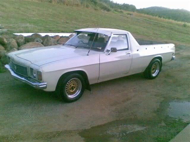 Gaz's Holden ute. Cameradump002