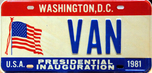 What number plates have you got? Vanplate