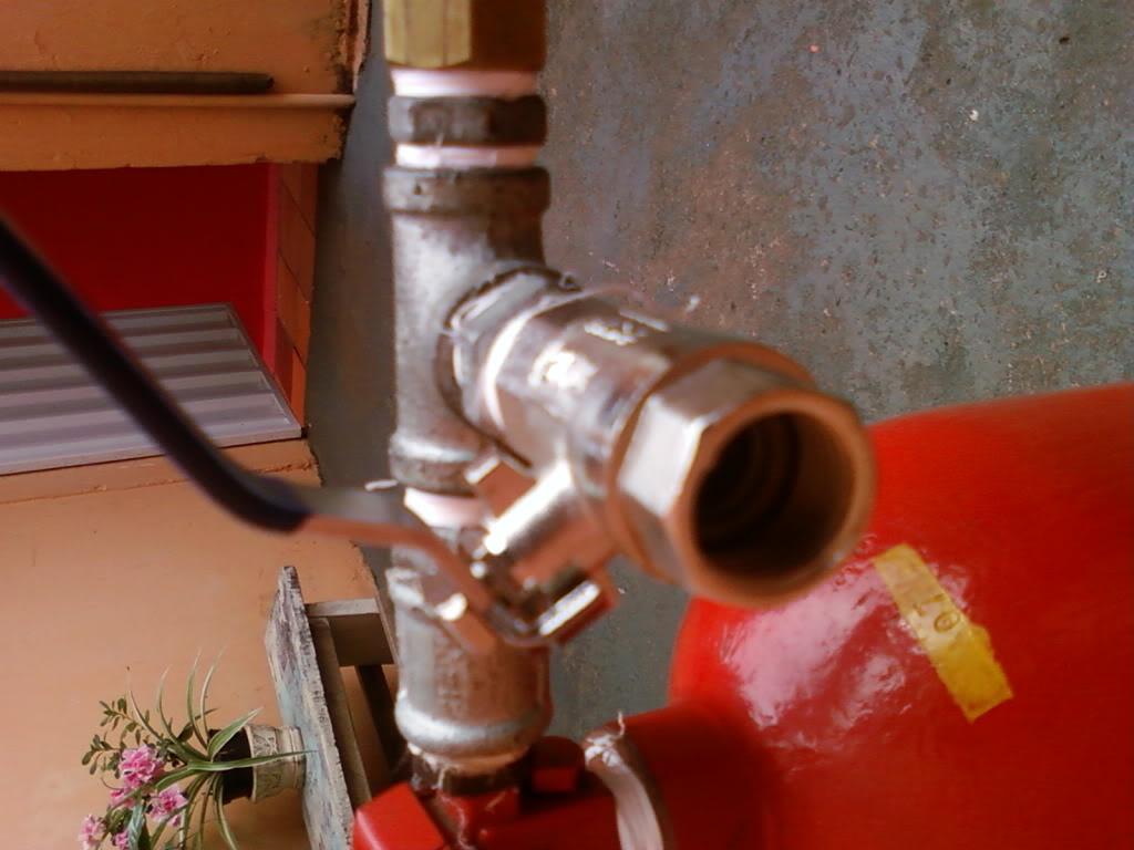 Recarga CO2 no extintor com segurança Foto-0069