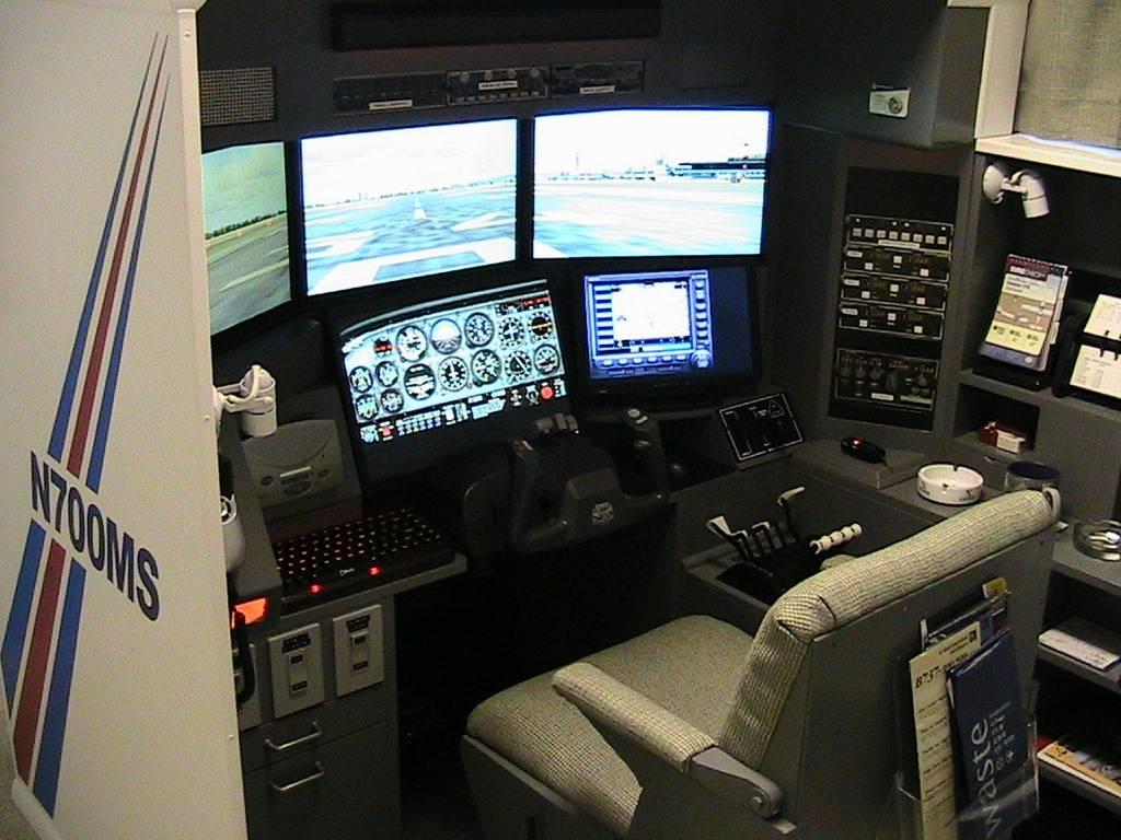 Meu Cockpit FSA075finishedsim6