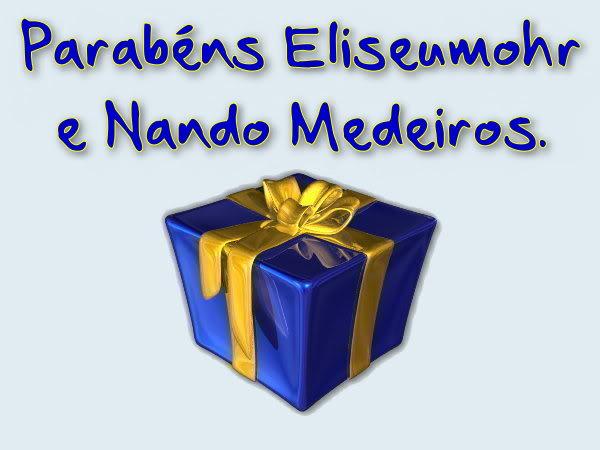 Parabéns Eliseumohr e Nando Medeiros !!! Imagem159