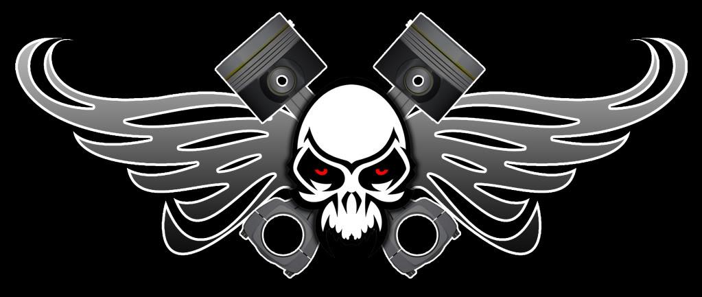 Posible logo de Los Rompe Bielas de Forza 4 LogoBielasNegro